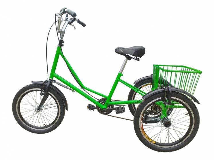 Трехколесный велосипед для взрослых грузовой