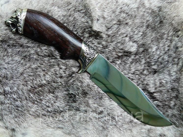 """Нож ручной работы """"Лев"""" - особенный подарок для мужчины"""
