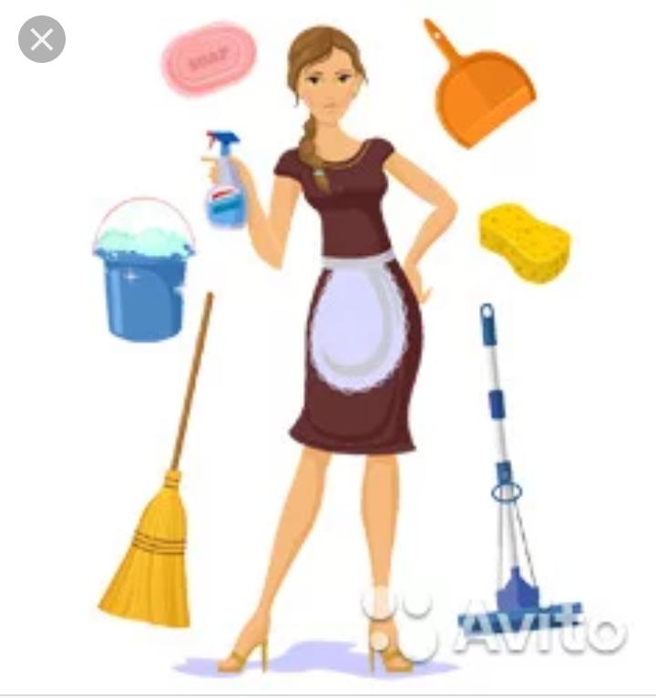 Комплексная уборка квартир,домов,помещений.