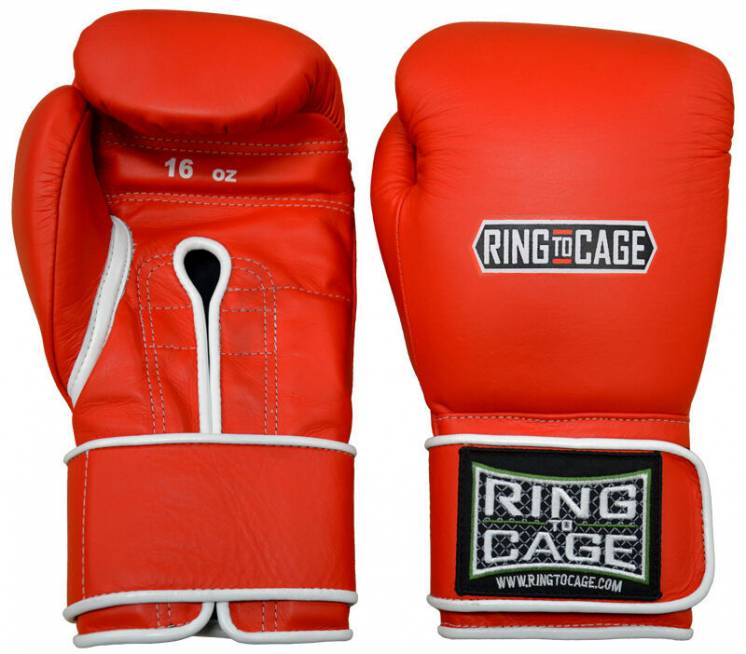 Боксерские перчатки Ring To Cage Japanese Style Training Gloves 2.0