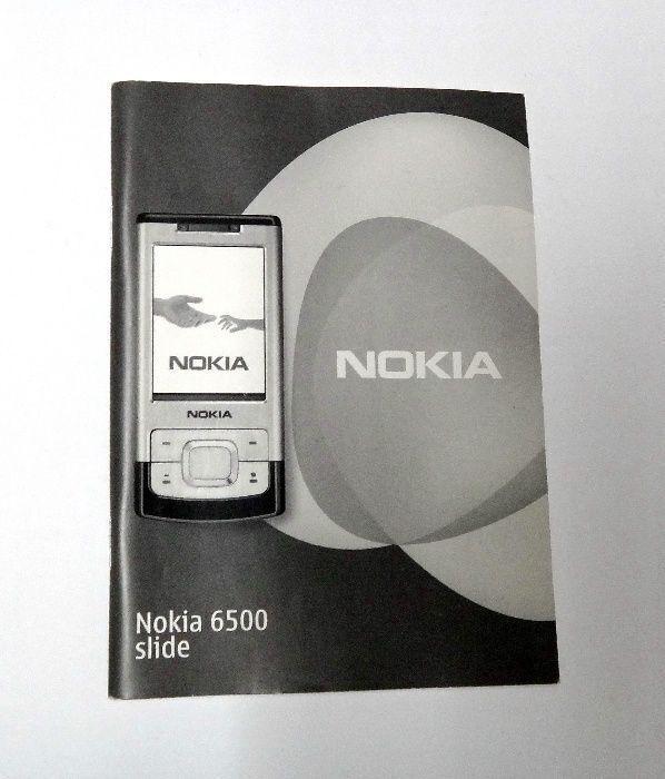 Инструкция телефона Nokia 6500 Slide