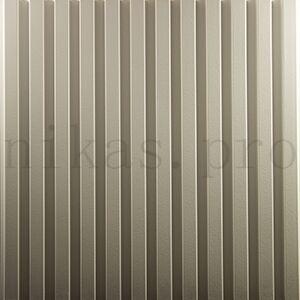Гипсовая 3д панель линии