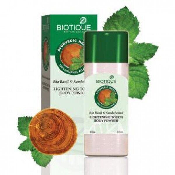 Освежающий тальк для тела - Biotique