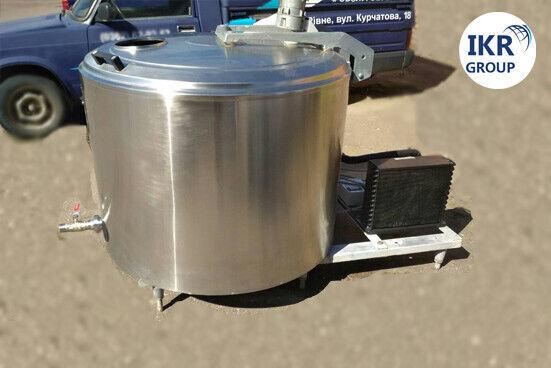 Охолоджувач молока б/у Alfa Laval об'ємом 500 літрів