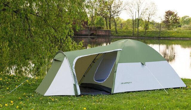 Палатка 3-х місна Acamper Monsun3 зелена - 3500мм. H2О - 3,4 кг