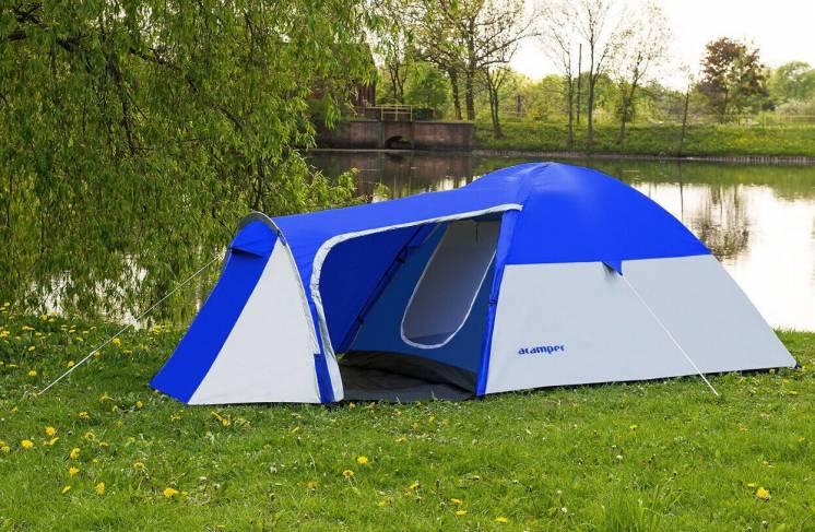 Палатка 3-х місна Acamper Monsun3 синя - 3500мм. H2О - 3,4 кг