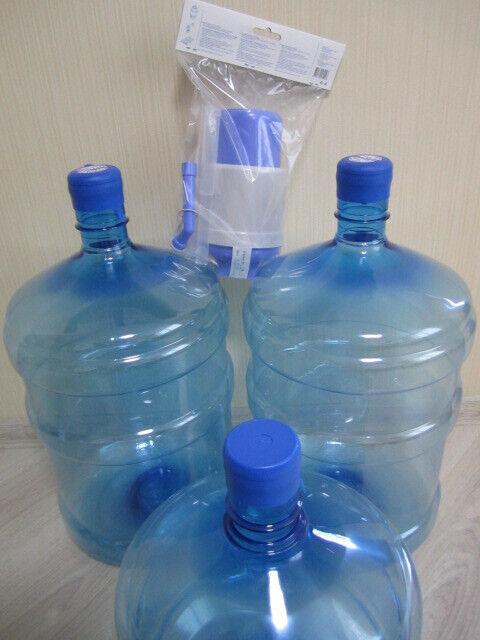 Механическая ручная помпа для воды. бутыль 19л