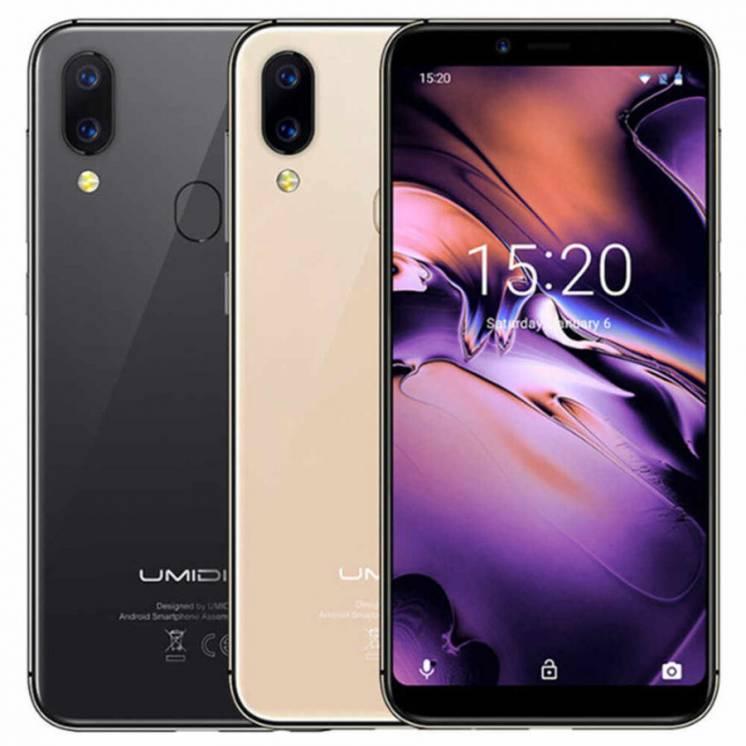 Смартфон Umidigi A3, 4g, Mt6739, 1440x720, 2/16gb, 8/12mp, бампер