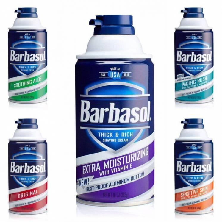 Пена для бритья Barbasol