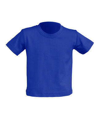 Детская футболка, синяя, 0-2 года