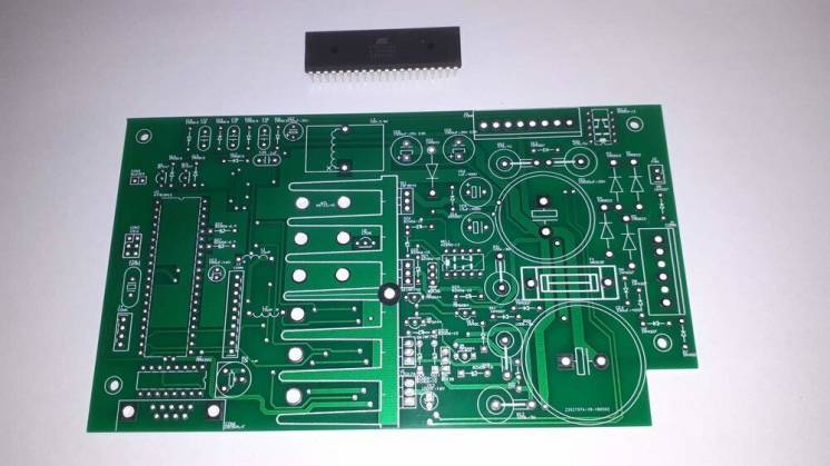 Печатные платы для измерителя параметров радиоламп