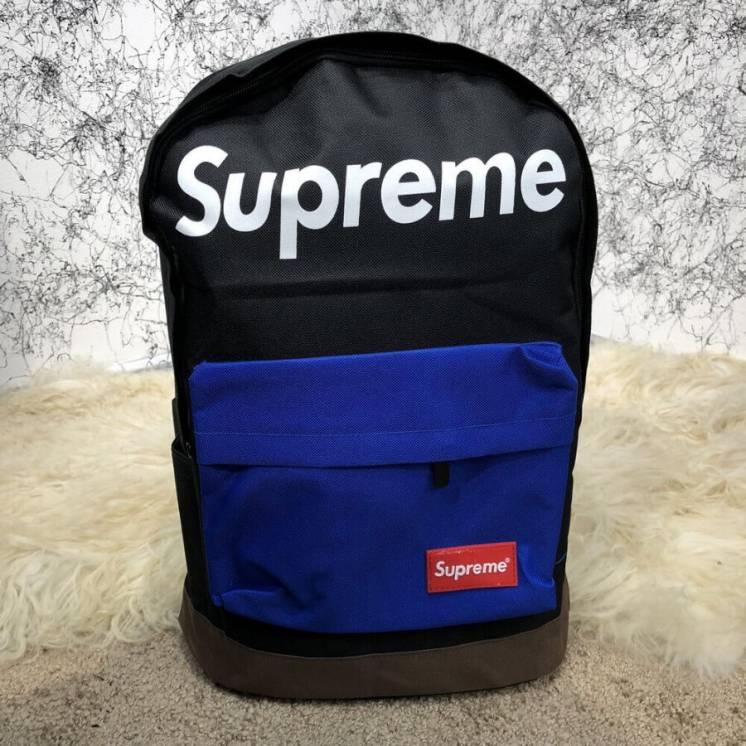 Рюкзак Supreme Backpack Combat Black/blue