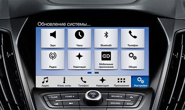 Русификация, прошивка, адаптация, навигация для Ford, Lincoln