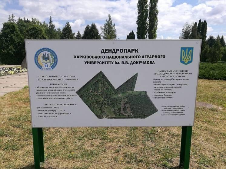 Участок возле Харькова