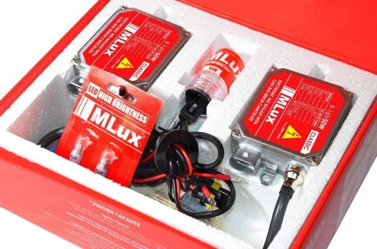Комплект ксенона Mlux Classic H7  50 вт 4300°К 9-16в