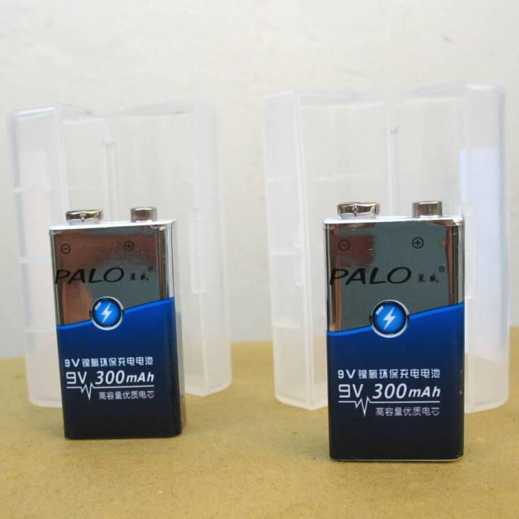 Аккумуляторы крона , 9 вольт, Ni-mh , бренд: Palo , новые