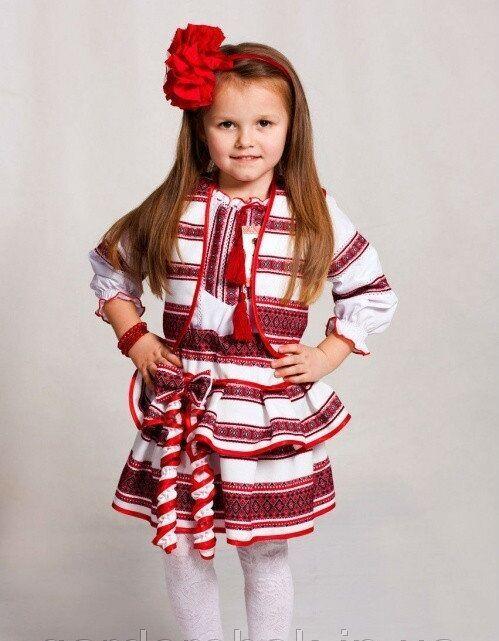 Детский вышитый костюм.код: вт1181