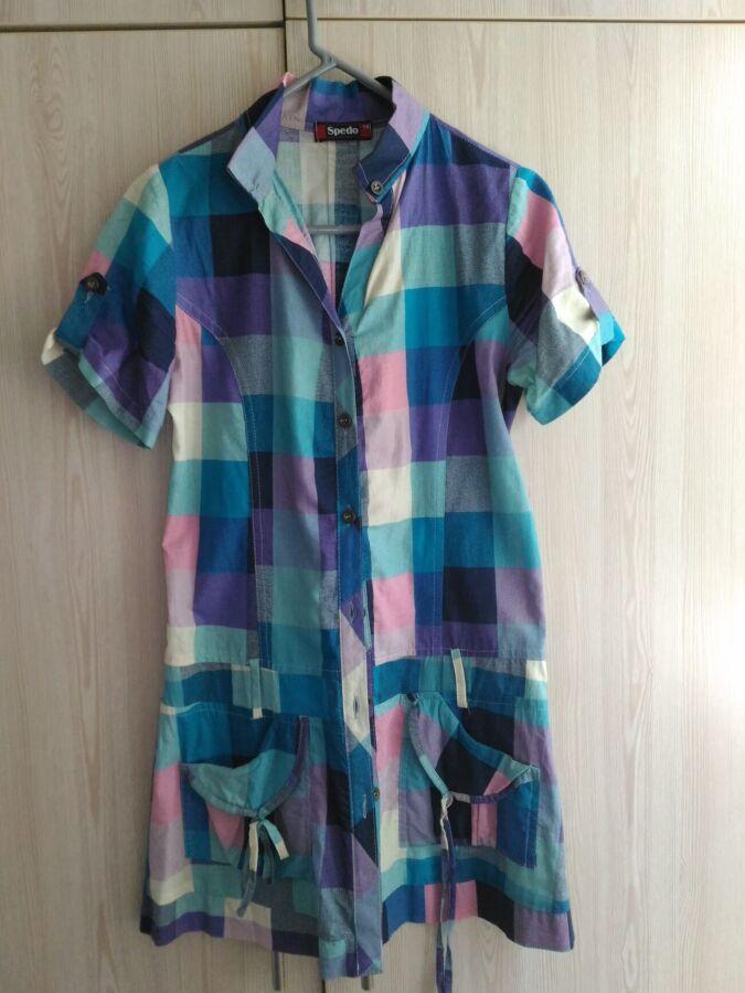 Туника - рубашка.