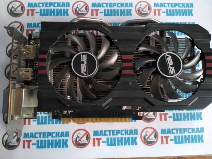 2219к - видеокарта Asus Radeon Hd7790 Dc Ii 1024mb Gddr5