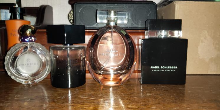 Флаконы для духов туалетная вода духи парфюм Calvin Klein Charriol Ysl
