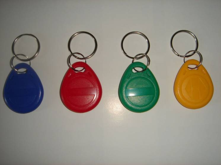 Брелки, ключи для домофонов, перезаписываемые T5577 Em4305 125 кгц.