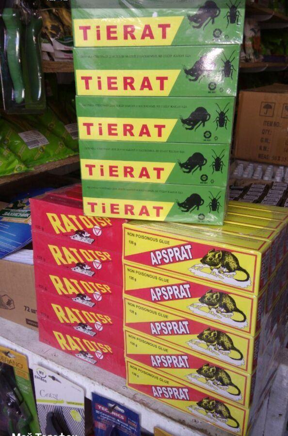 Клей для крыс и мышей Tierat 135 г