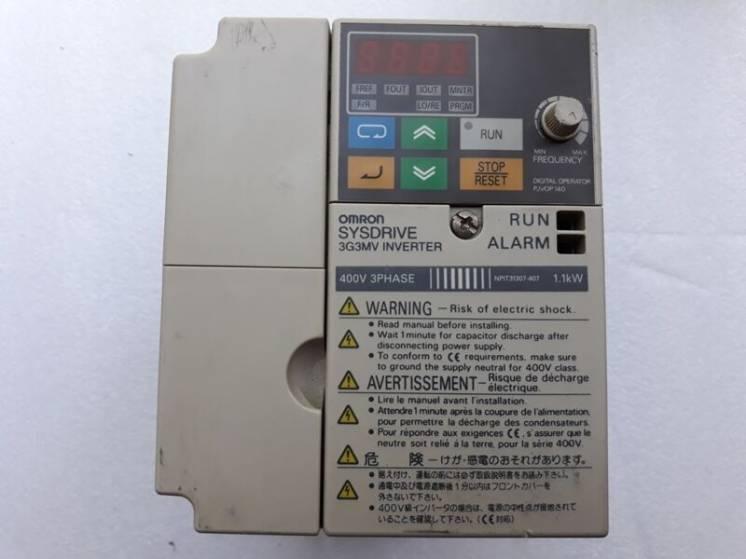Частотный преобразователь 1,1квт 380в омрон
