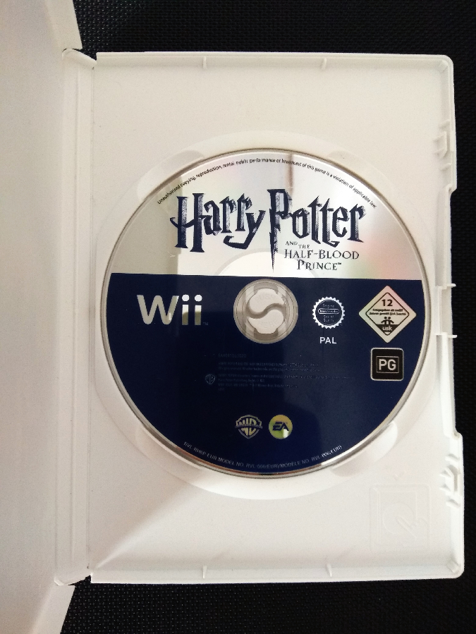 Игра гарри поттер Harry Potter And Half Blood Prince диск Nintendo Wii
