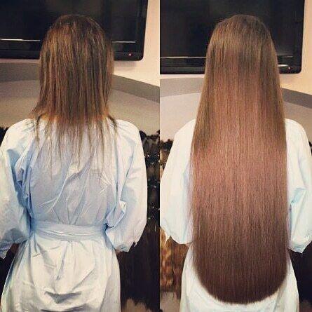 Качественное наращивание волос киев
