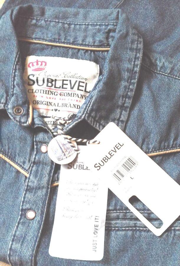 Женская  джинсовая брендовая рубаха из германии