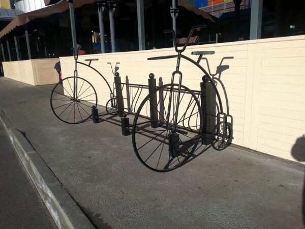 Велопарковка венеция на 6 велосипедов