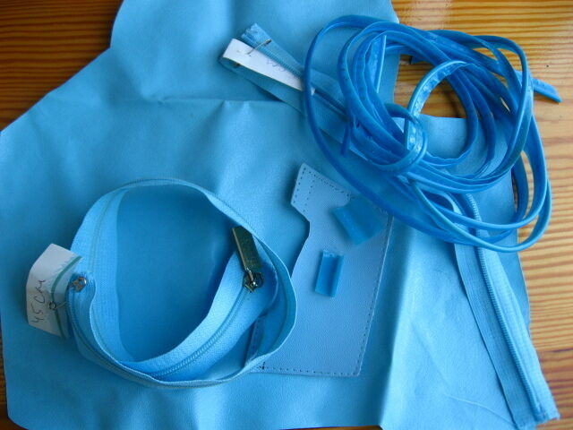 Фурнитура швейная на ремонт рюкзака, молния, вставка клеёнка, лента