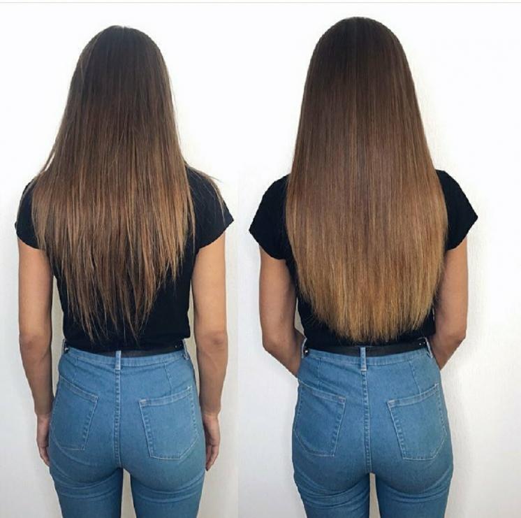 Супер предложение!микрокапсульное наращивание волос
