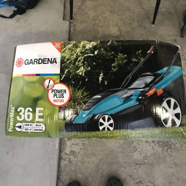 Газонокосилка Gardena 36 E (запчасти, под восстановление)