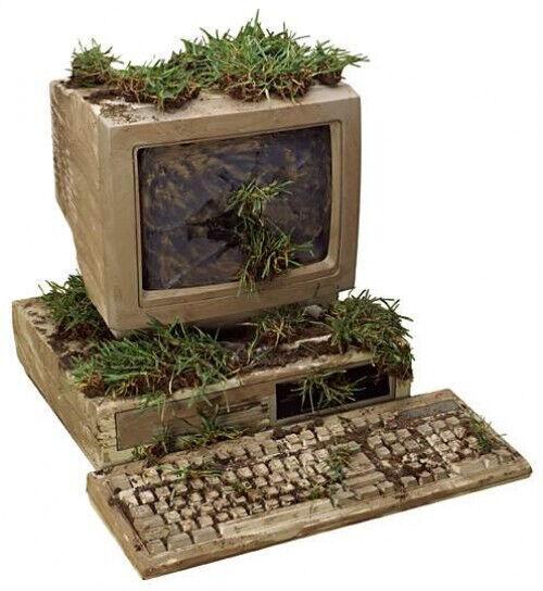 Старый компьютер, системные блоки и другое компьютерное железо в дар