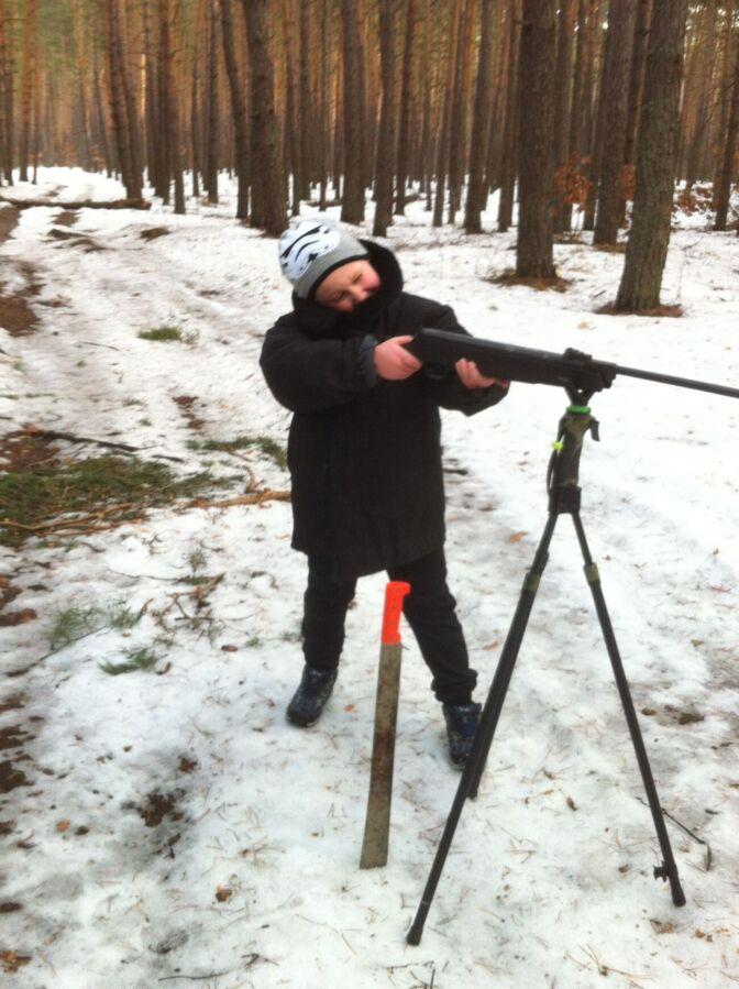 Трипод для стрельбы Fiery Deer Tripod Trigger