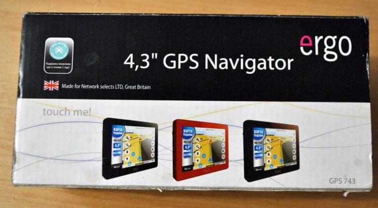 Планшет Gps навигатор Ergo Gps 743 на запчасти