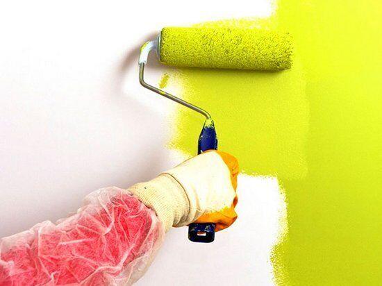 Малярные работы (поклейка, покраска, откосы, шпаклёвка)