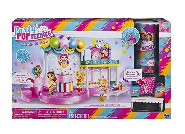 Набор Party Popteenies фантастическая вечеринка,оригинал кукла хлопушк