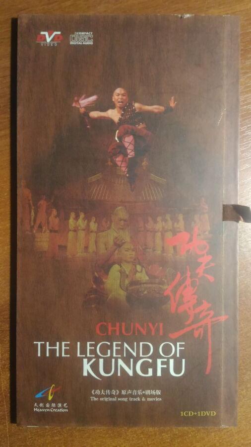 Chunyi The Legend Of Kung Fu (original Dvd + Cd)