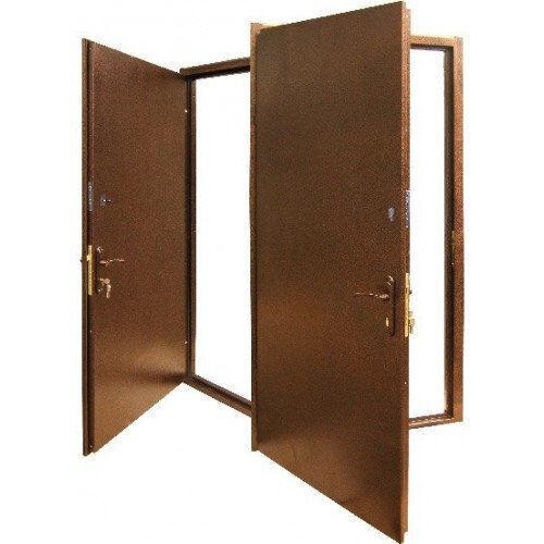 Металлическая входная дверь с 2-х сторон металл сталь 1.5 мм. + 1.2 мм