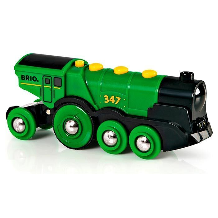 Деревянная железная дорога Brio (брио) паровоз