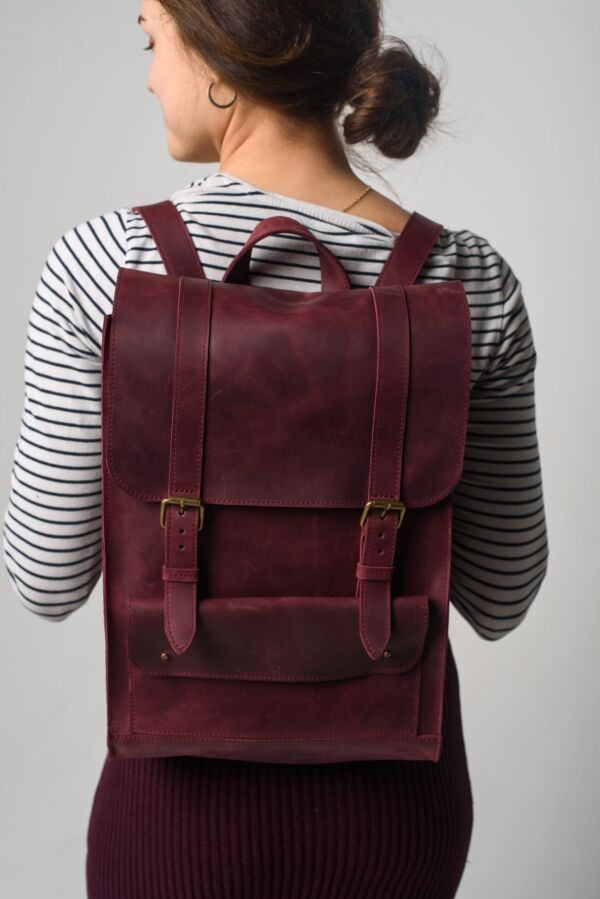 Кожаный рюкзак женский с доставкой без предоплаты! жіночий наплічник