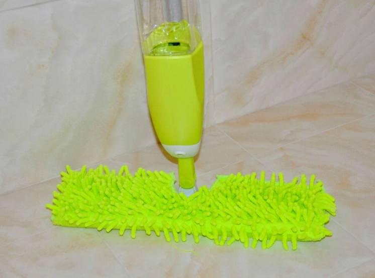 Умная швабра 3 в 1 - уборка пыли, грязи и воды в одно движение!