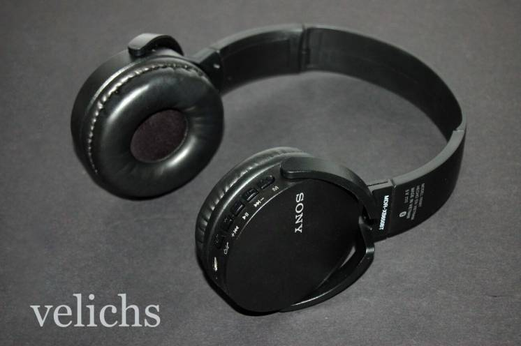 Bluetooth наушники (гарнитура) Mp3 Fm Sony Mdr-xb650bt