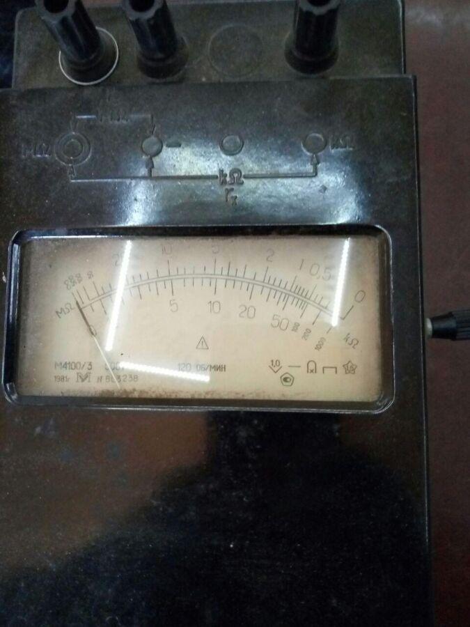 Мегаомметр м4100/3 (м41003, м 4100/3, м-4100/3, M4100/3, M 4100/3, M-4