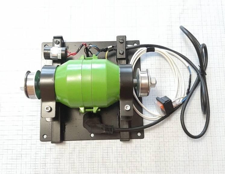 Вибромотор для вибростолов, вибросита, 220в, 0,5 квт с креплением