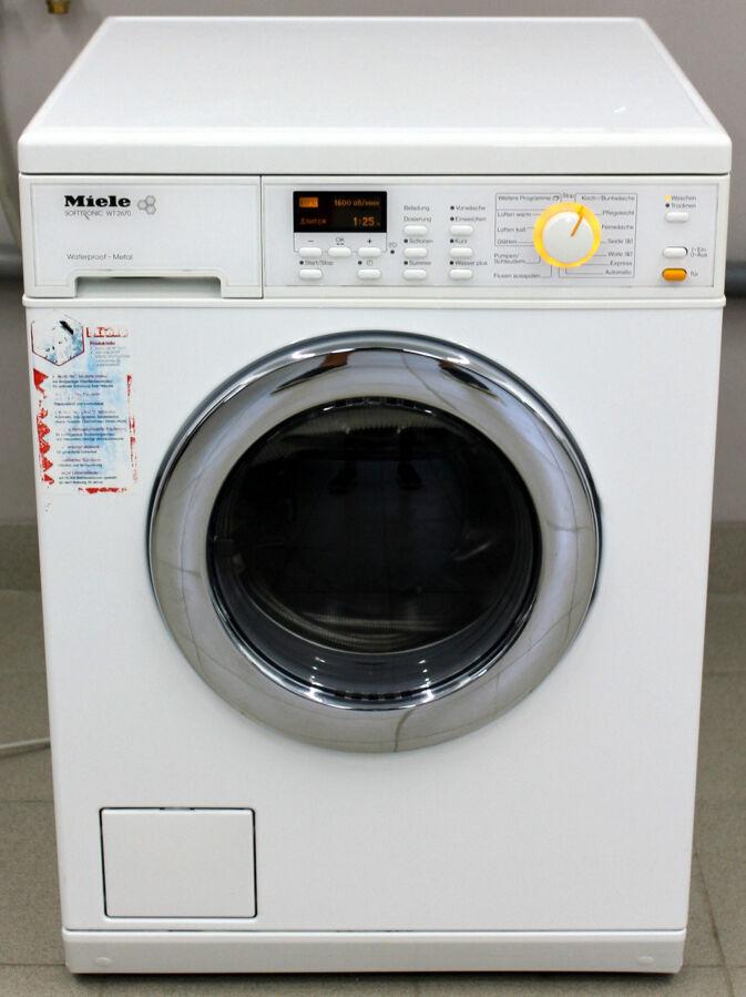 Стирально-сушильная машина Miele Wt 2670 Wpm б/у