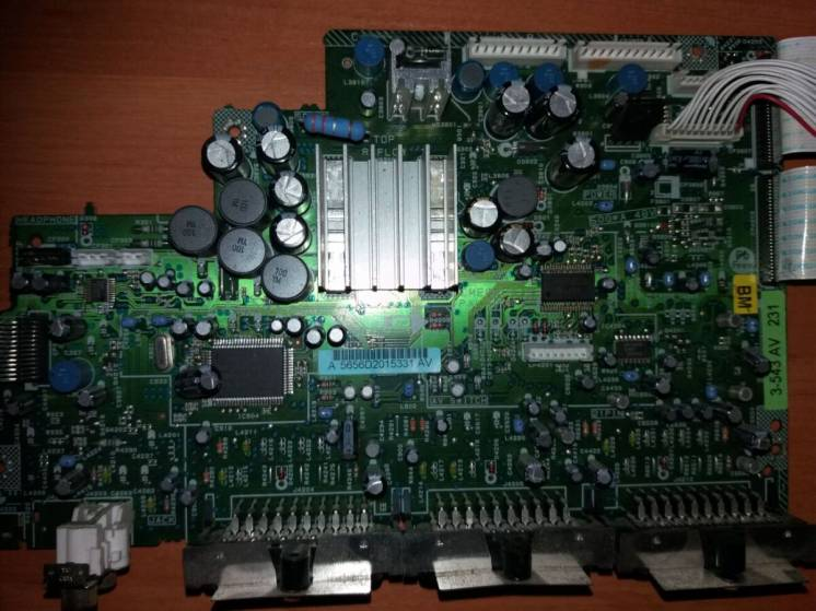 Cme069a Pal, Cee128a Main Av, Tuner