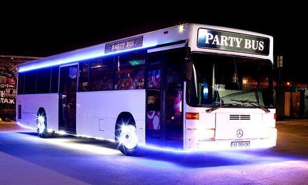 065 лимузин автобус Party Bus Vegas пати бас аренда